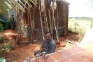 Thirumaran in front of sick room