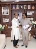 Meeting with film superstar Mr. Rajinikanth